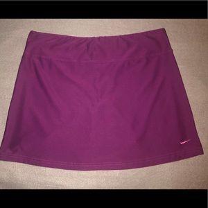 Nike Skort Purple Tennis Golf Athletic Stretch  S